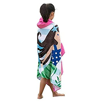 Artown Kids Bath Towel Dinosaur 100/% Organic Cotton Bathrobes Ultra Soft Hooded Poncho Swim Pool Beach with Cute Cartoon Animal for Boys Girls