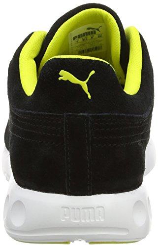 Puma188935 - Zapatillas de Deporte Hombre Negro/Blanco (Black/Sulphur Spring/White)