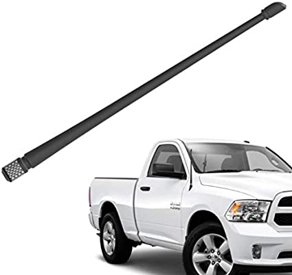Rubber Antenna Replacement Mast F-150 Raptor Black 4.5 Inch Stubby Antenna for Ford F150 Dodge RAM 1500 Truck 2009-2020
