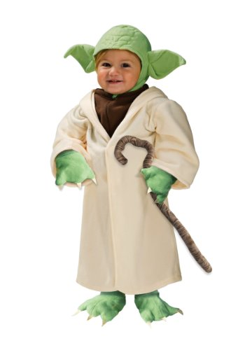 Star Wars Yoda Fleece Costume Small