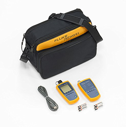 Fluke Networks FTK1000 SimpliFiber Pro Multimode Fiber Verification Kit, Fiber Tester