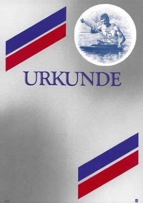Albert Hoffmann Urkundenverlag Kajak, Kanu, Rudern   310   1093   Kanu Herren   Edelkarton (300 g m²) 100 Stk