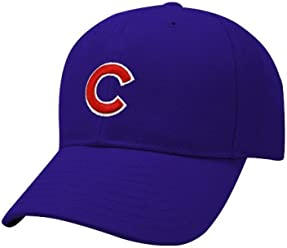 timeless design 8d7ff c17bf New Era Chicago Cubs Royal Blue Youth Flexfit Authentic Game Cap