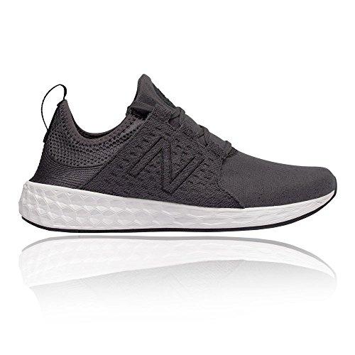 New Balance Women's Cruz Retro Hoodie Running Shoe, Size: 10 Width: B Color: Black