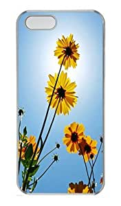 IMARTCASE iPhone 5S Case, Daisy PC Hard Case Cover for Apple iPhone 5S Transparent