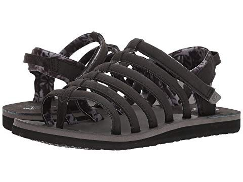 's Base Camp Plus Gladiator II Sandals (10 B US, Black/Gull Grey) ()