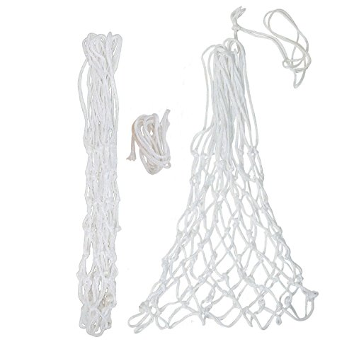 GSI Pair of Premium Quality Heavy Duty All Weather Professional Thick Basketball Net with 12 Loops (4mm)