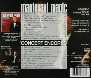Mantovani Magic; Concert Encores