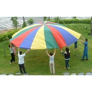 (Price/piece)Everrich EVC 0072 Parachutes (4 colors) 16 handles 20' or 6m