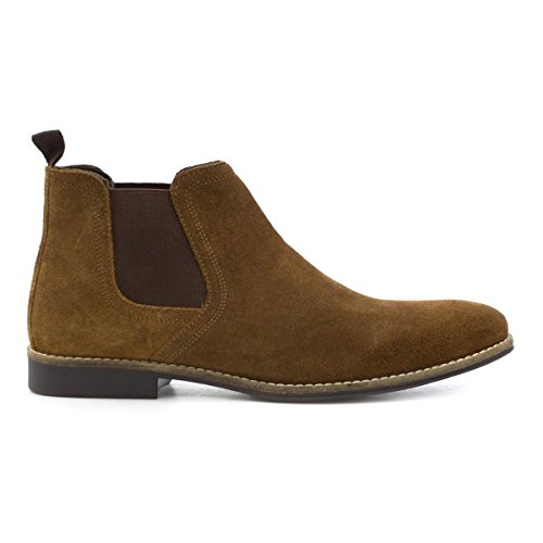 Red Tape Herren Tan Wildleder Chelsea-Stiefel Braun
