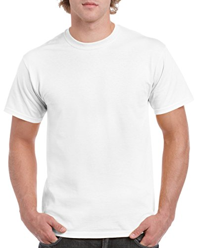 Gildan Men's Heavy Cotton T-Shirt - Small - White
