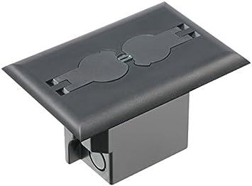 Arlington Industrias Retrofit caja de suelo eléctrica con tapa ...