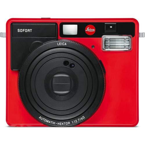 Leica Sofort Instant Film Camera (Red)