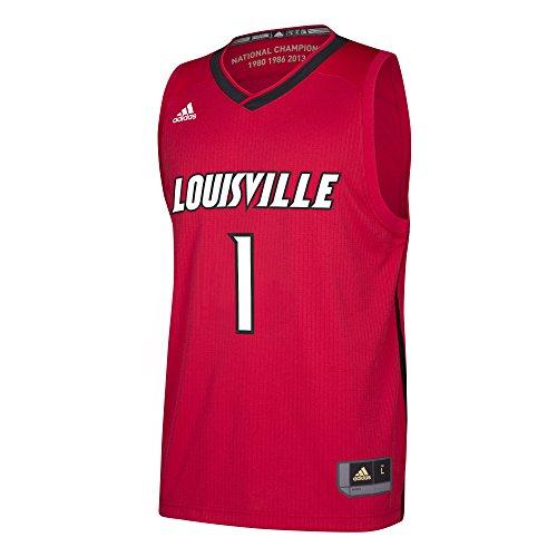 Cardinals Replica Jersey - NCAA Louisville Cardinals Replica Jersey, Red, Medium