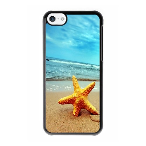 Coque,Coque iphone 5C Case Coque, Beach Wallpaper Cover For Coque iphone 5C Cell Phone Case Cover Noir
