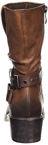 Marco Tozzi Premio 25048 - botas de material sintético mujer marrón - Braun (Muscat Ant.Com 366)