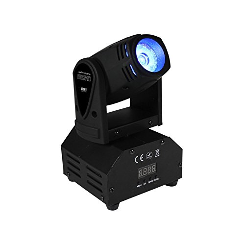 Blizzard Lighting SwitchBlade Micro | 15W Quad Color RGBW Mini Moving Head by Blz
