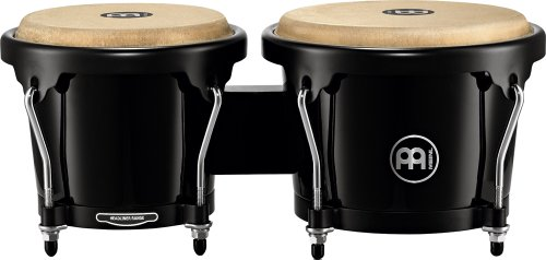 Meinl Percussion HFB100BK Headliner Series Fiberglass Bongos, Black