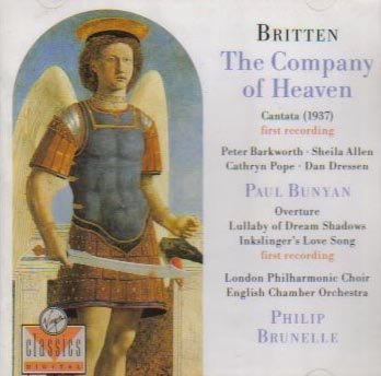 Britten:The Suite of Heaven, Paul Bunyan (First Recordings) (Virgin)