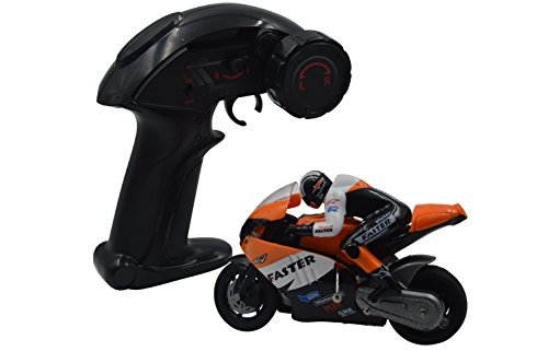 Blomiky JXD 806 Orange RC Motorcycle Motorbike 2.4Ghz 4 Channel Remote Control and Built-in Gyroscope 1:16 Scale RC Motorcycle (Nitro Rc Bike)
