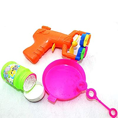 CHDHALTD Electric Bubble Shooter Gun, Automatic Bubble Machine,Bubble Blaster Toy for Toddlers, Kids, Parties,Funny Indoor and Outdoor Toys: Home & Kitchen