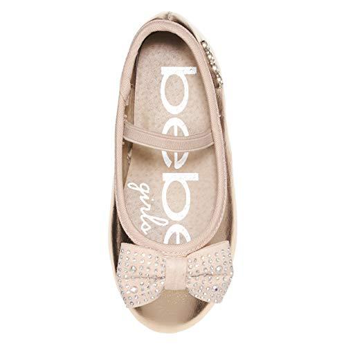 Pictures of bebe Toddler Girls Ballet Flats Size 9 Rose Gold 9 M US Toddler 3