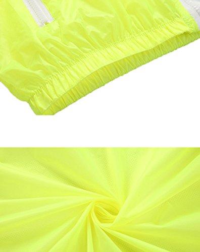 Mochoose Mujer Súper Ligera Chaqueta con Capucha al Aire Libre Seco Rápido Cortavientos Impermeable UV Proteger el Escudo de la Piel Gris