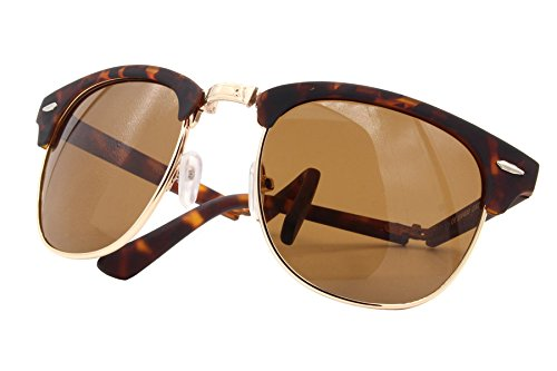 004 Cheapass Femmes Hommes Ca Marron Miroitant Sunglasses Rétro Clubmaster 0qrxwIq4F7