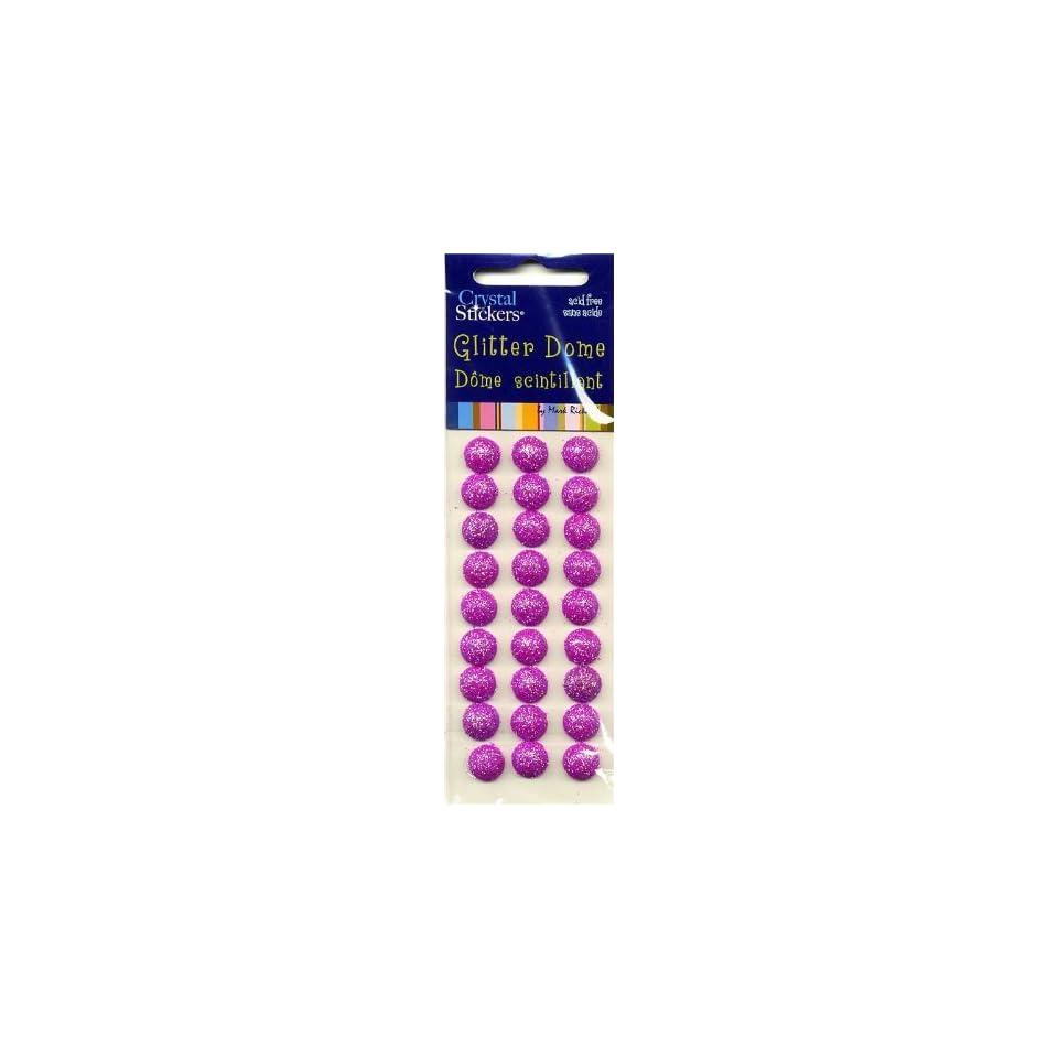 Glitter Dot Hot Pink, Large