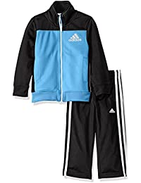 adidas Baby Boys' Zip Up Jacket Tricot and Pant Set