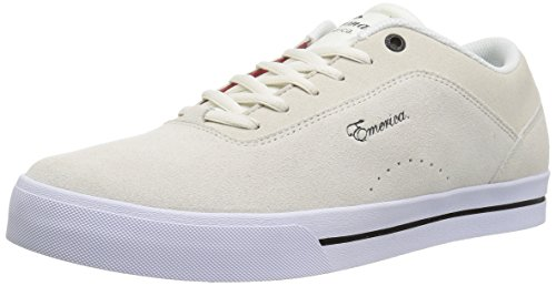 Emerica Heren G-codeersleutel Up Skateschoen Wit / Wit