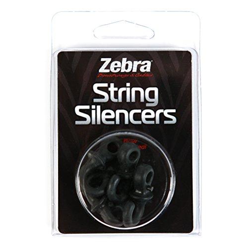 Zebra String Silencers Pack
