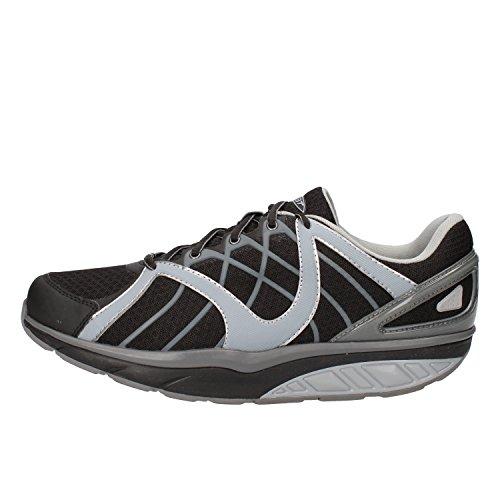 MBT Sneakers Hombre 42 EU Negro Gris Textil