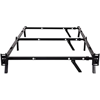 Amazon Com Zinus Compack 9 Leg Support Bed Frame For Box