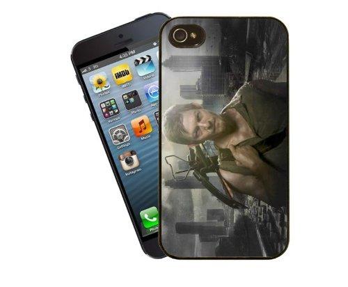 Eclipse idées cadeau avec The Walking Dead–Daryl Dixon–Un must have dans le cas d'un Zombie Apocalypse.–Housse étui pour iPhone 4/4S