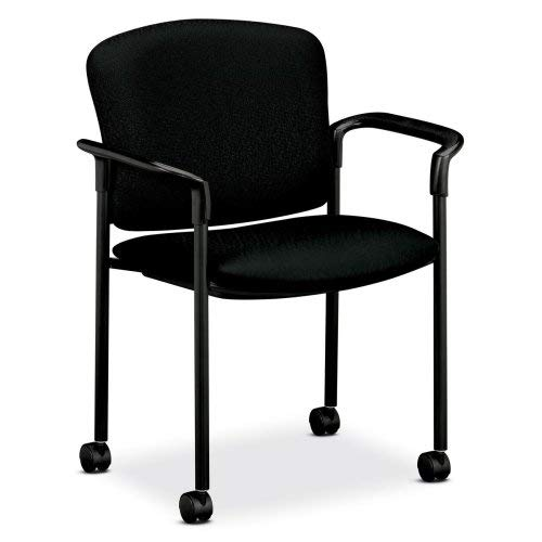 HON HON4075NT10T 2-Carton Mobile Arm Guest Chair, 27-1/4