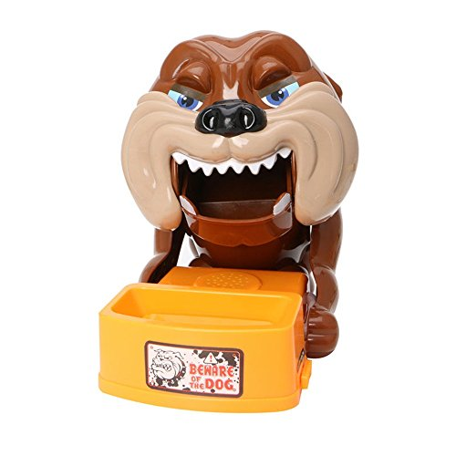 Funny Toy Beware of the Dog Steal Bones Box Family Party Game for Adult Kids Fun by Angelwing