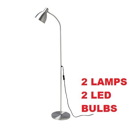 Ikea Lersta Floor Lamp E26 Led Bulb Included (2 Pack) Adjustable by IKEA (Image #1)