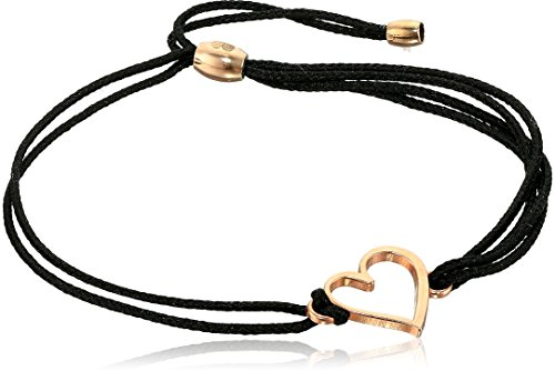 Cord, Heart, 14kt Rose Gold Plated, Expandable ()