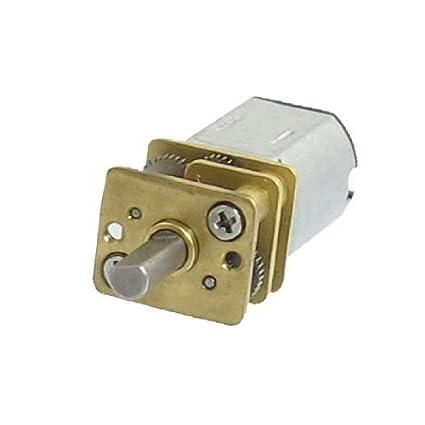 DealMux DC 6V 60 RPM High Torque Elétrica substituição Gear Box Motor