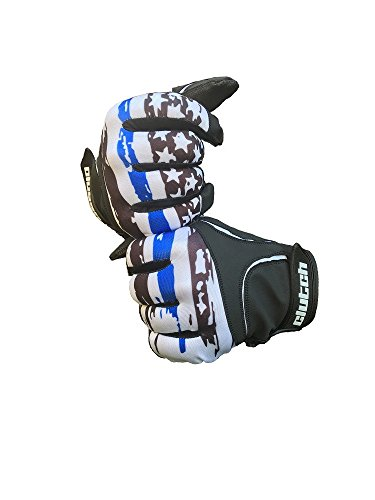 Clutch Sports Apparel Thin Blue Line Batting Gloves