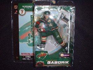 McFarlane NHL Series 7 Marian Gaborik Minnesota Wild variation figure (Nhl Diecast Collectibles)