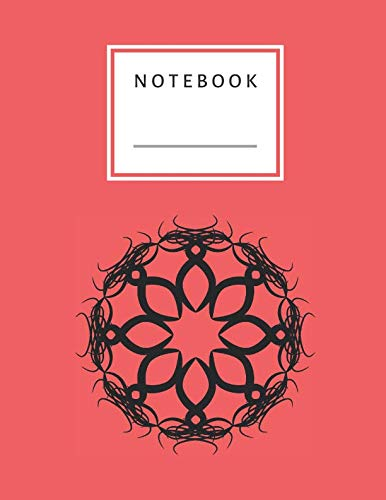 Notebook: Star Circle Symbol Notebook Lined and Numbered 120 Pages Witch Lines Letter Size 8.5 x 11 - A4 Size (Journal, Notes, Notebook, Diary, Composition Book) Soft Cover (Symbol A Perfect Circle)