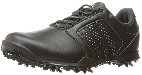 (adidas Women's Adipure Tour Golf Shoe, Black, 7.5 M)