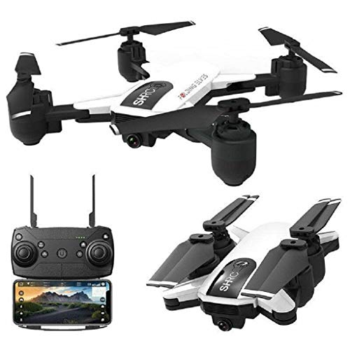 acction Drone x pro 5G Selfi WiFi FPV with 1080p HD Camera Foldable RC Quadcopter,GPS Positioning Follow, Long Flying Time,VR Live Flight (White + 2 Battery)