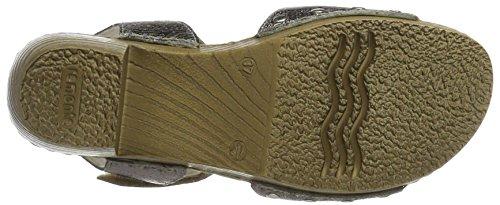 Remonte Damen D6953 Knöchelriemchen Gold (platin/90)