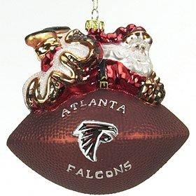 (Atlanta Falcons 5 1/2'' Peggy Abrams Glass Football)