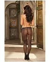 Dreamgirl Women's Fishnet Pantyhose with Back Seam