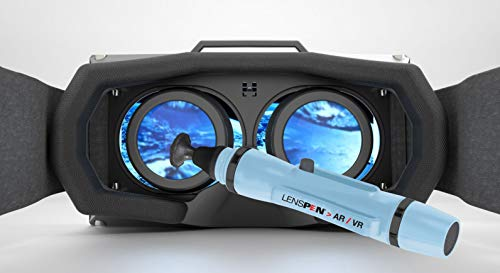 LensPen for AR/VR - Clean Augmented Reality, Virtual Reality Goggles, Headsets, Smart Glasses, Optics, PS4 VR, Microsoft HoloLens, Oculus Quest, Gamer - NLP-1-ARVR