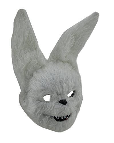 Zeckos Hairy Scary Furry Evil Bunny Rabbit (Evil Bunny Costume Makeup)